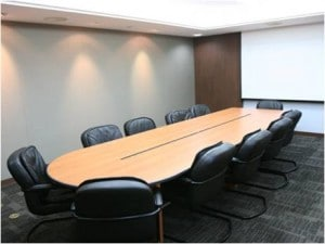 Recruitment free boardroom facilities