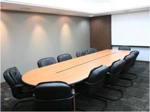 Recruitment free boardroom facilities