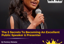 The 5 Secrets To Becoming An Excellent Public Speaker & Presenter