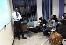 CSS Holds A Free Training On Advanced Public Speaking & Presentation Skills