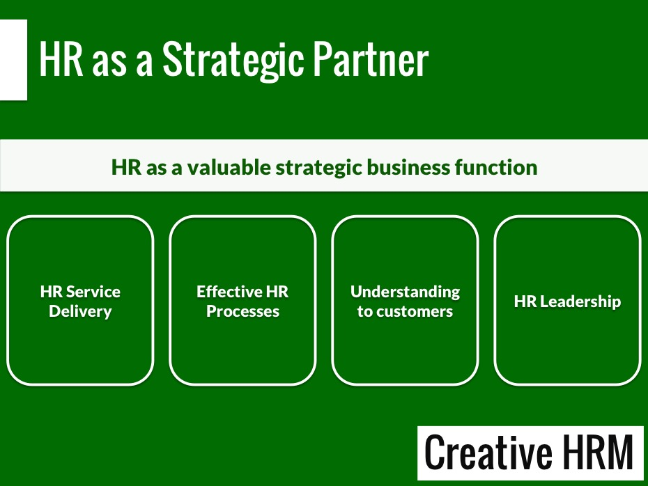 how to hrm act as change agents