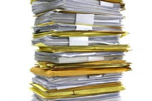 Stack of CV's