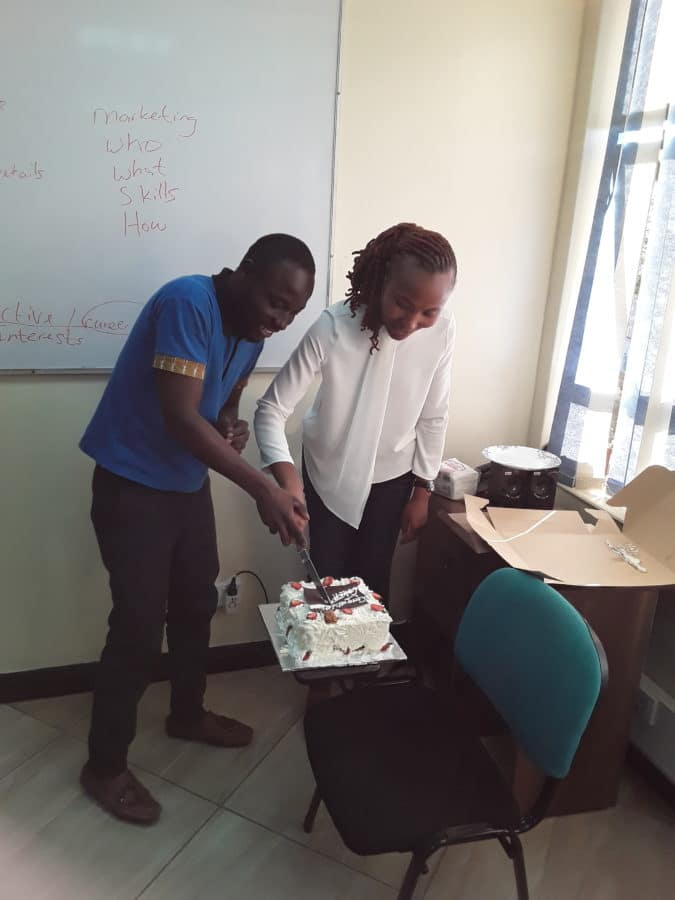 Sales Training Graduation